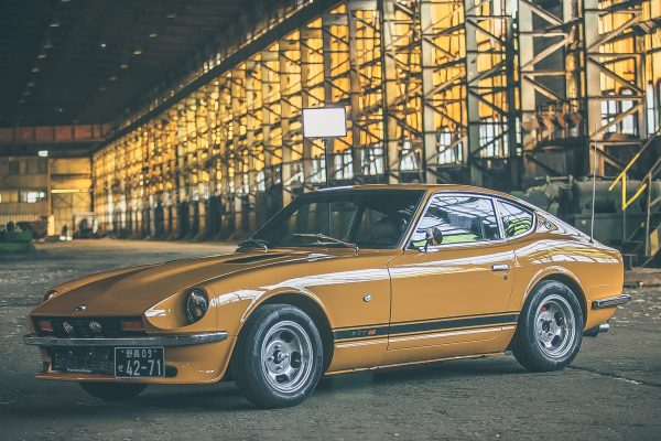 Restored Datsun 280z in Safari Gold Cr for sale Germany 3