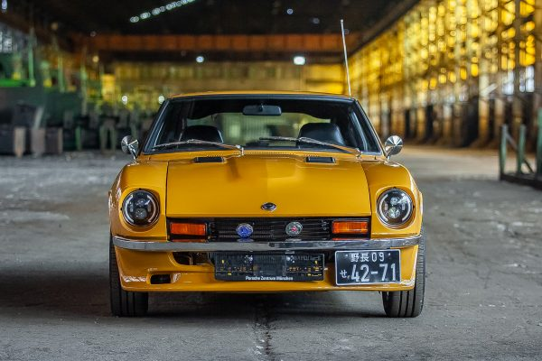 Restored Datsun 280z in Safari Gold Cr for sale Germany 2