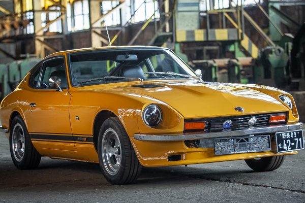 Restored Datsun 280z in Safari Gold Cr for sale Germany 1