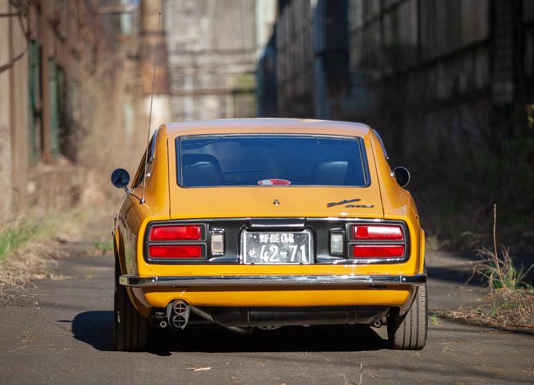 1977 Nissan Datsun 280Z – Safari Gold komplett restauriert
