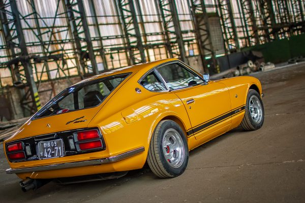 Datsun 280z Safari Gold Concours condition for sale Germany with TUV 1