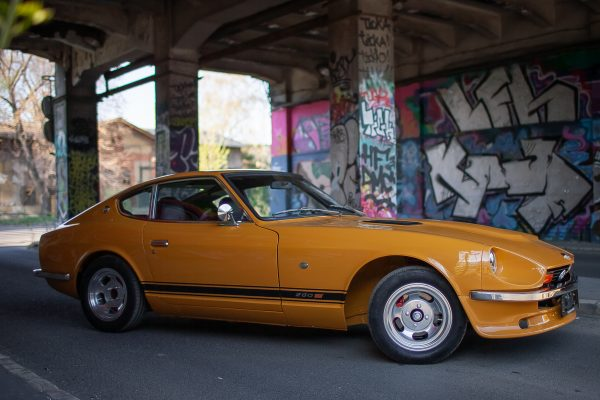 Datsun 280z Safari Gold Original Restoration for sale Germany 4