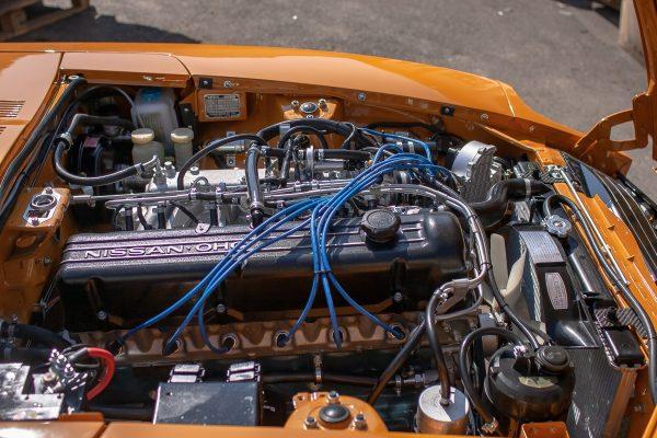 Datsun 280z Safari Gold Original Restoration for sale Germany 3