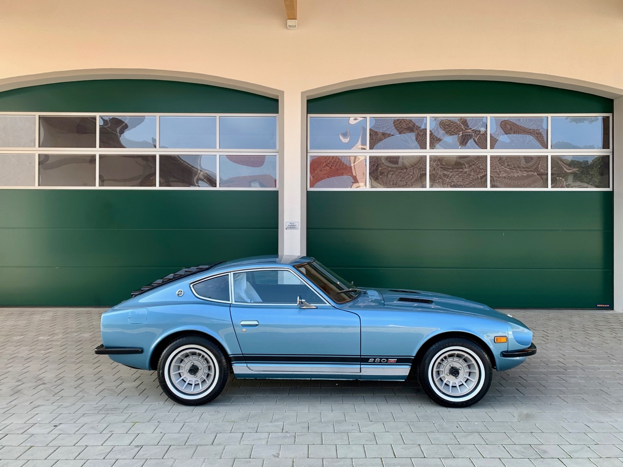 Metallic Blau 1977 Datsun 280z Original Auto zu verkaufen
