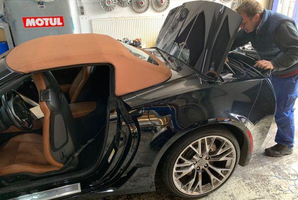 Corvette C7 Umrüstung Umbau USA EU TÜV Zulassung