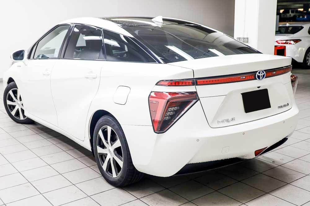 2016 Weiß Toyota Mirai Wasserstoff Brennstoffzelle PKW zu verkaufen österreich