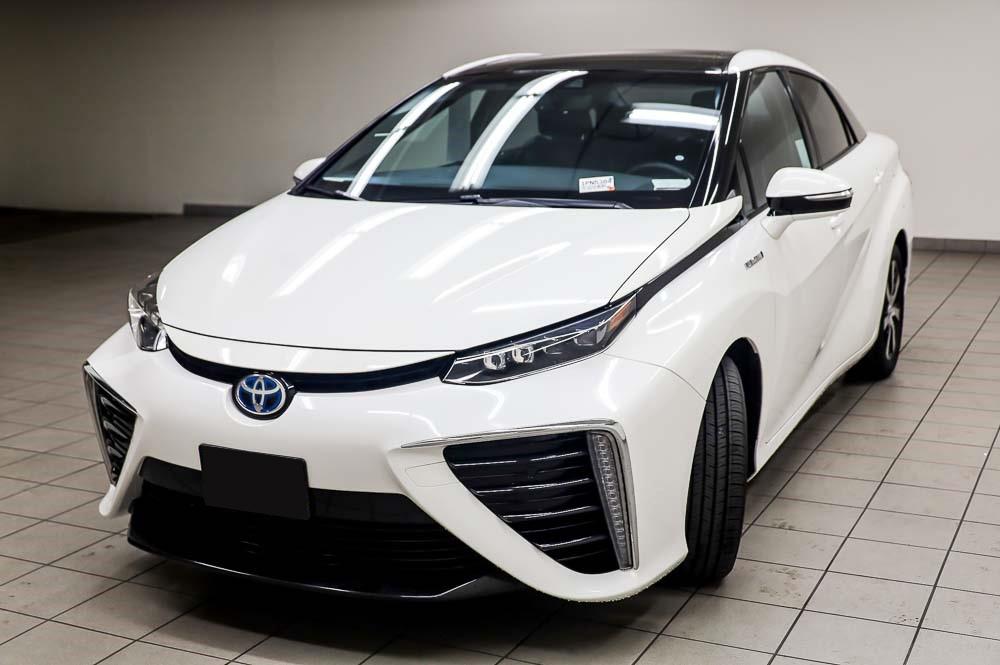 2016 Weiß Toyota Mirai Wasserstoff Brennstoffzelle PKW zu verkaufen