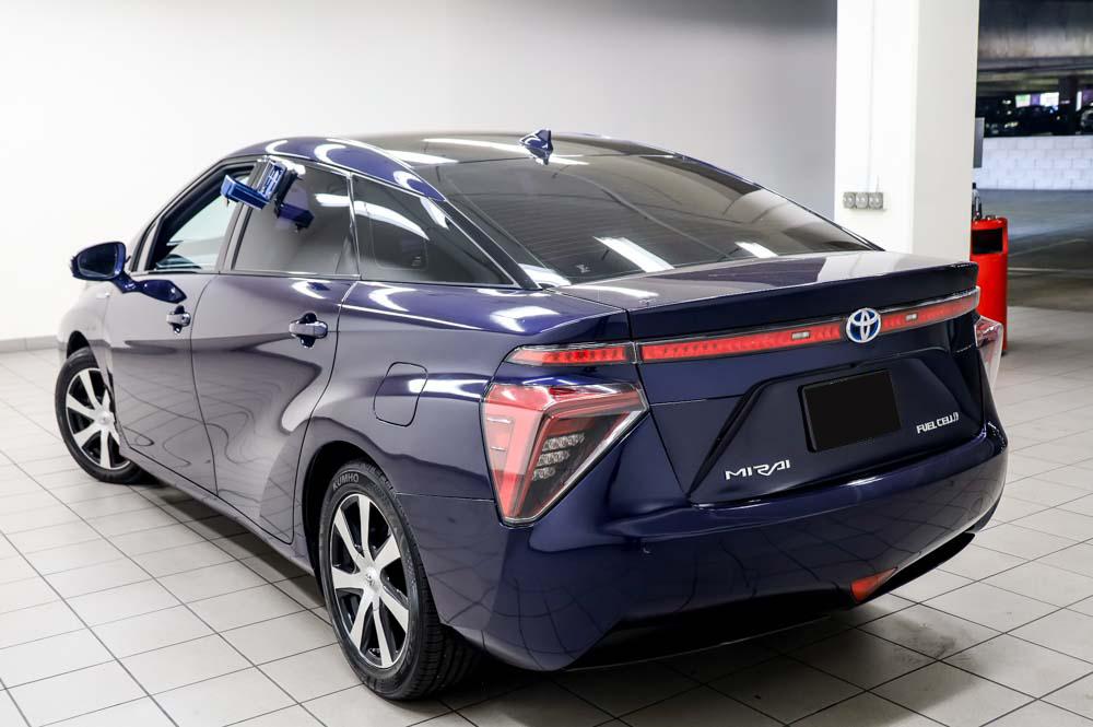 2016 Toyota Mirai Wasserstoff Brennstoffzelle PKW zu verkaufen – Top Zustand mit Gebrauchtwagengarantie und Scheckheft