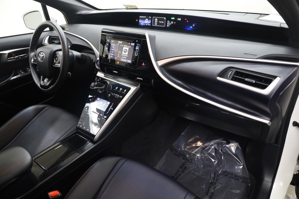 white Toyota Mirai Hydrogen fuel cell vehicle for sale