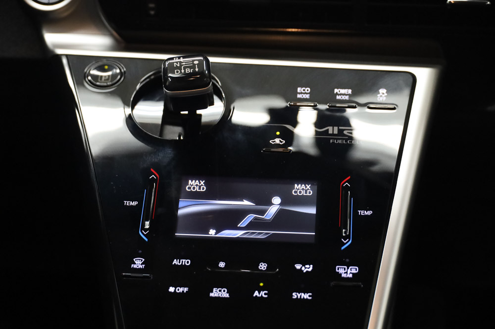 Low mileage 2016 Toyota Mirai Hydrogen fuel cell vehicle for sale