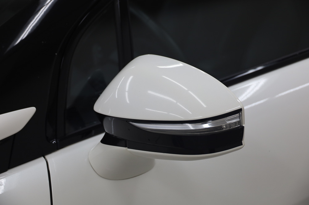 Weiß Toyota Mirai Brennstoffzelle PKW zu verkaufen
