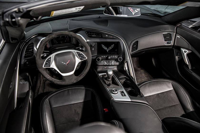 Vergleich Corvette C7 Innenleben Bavariasportscars