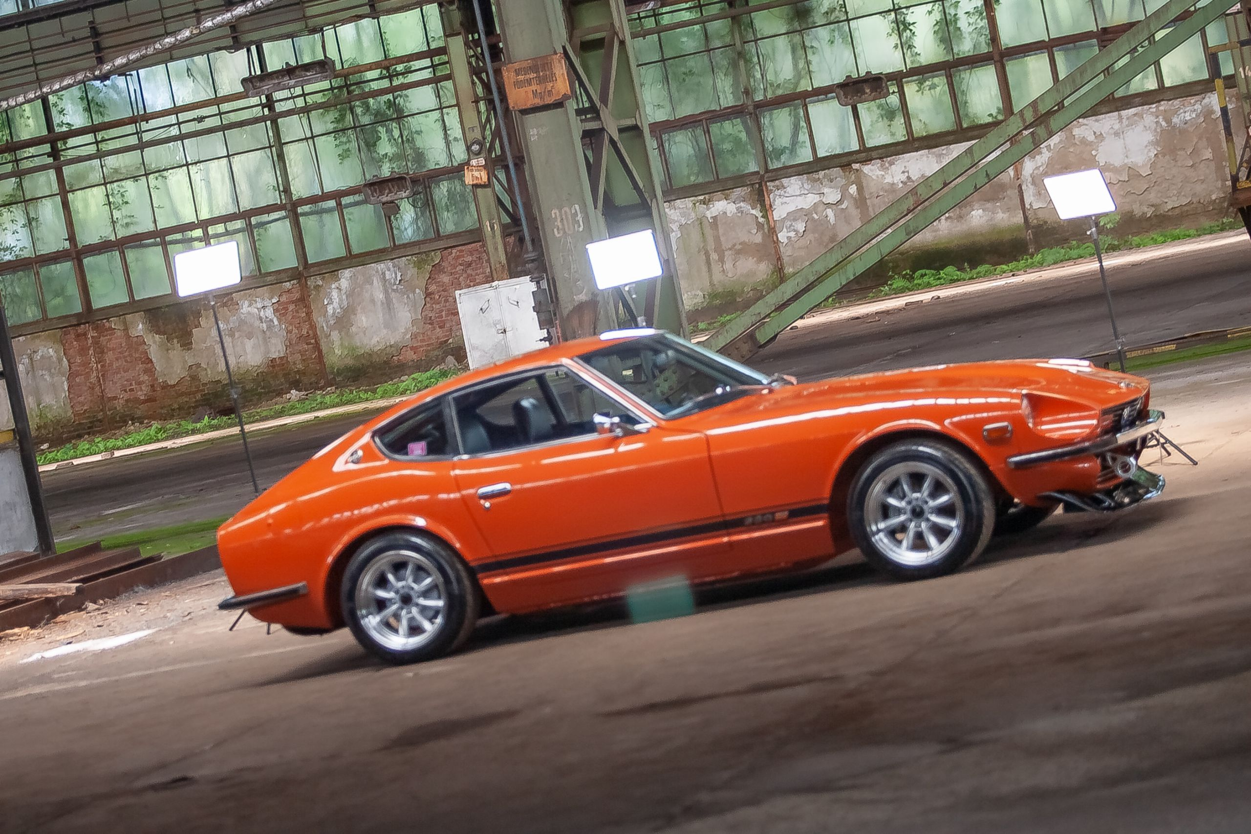 Orange Datsun 280z kaufen