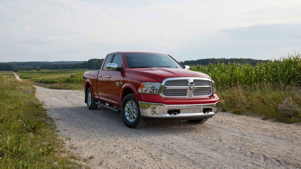 2018 RAM 1500 Red Harvest Import US Cars München