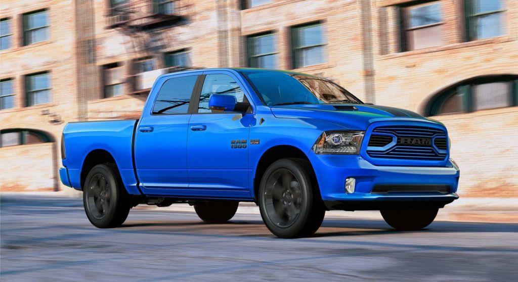 2018 RAM 1500 Hydro Blue Import US Cars München