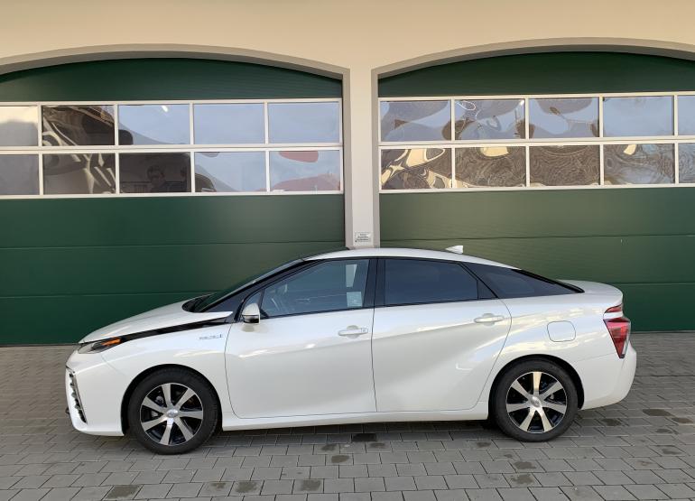 2016 Toyota Mirai Wasserstoff Auto zu verkaufen 75000km weiß