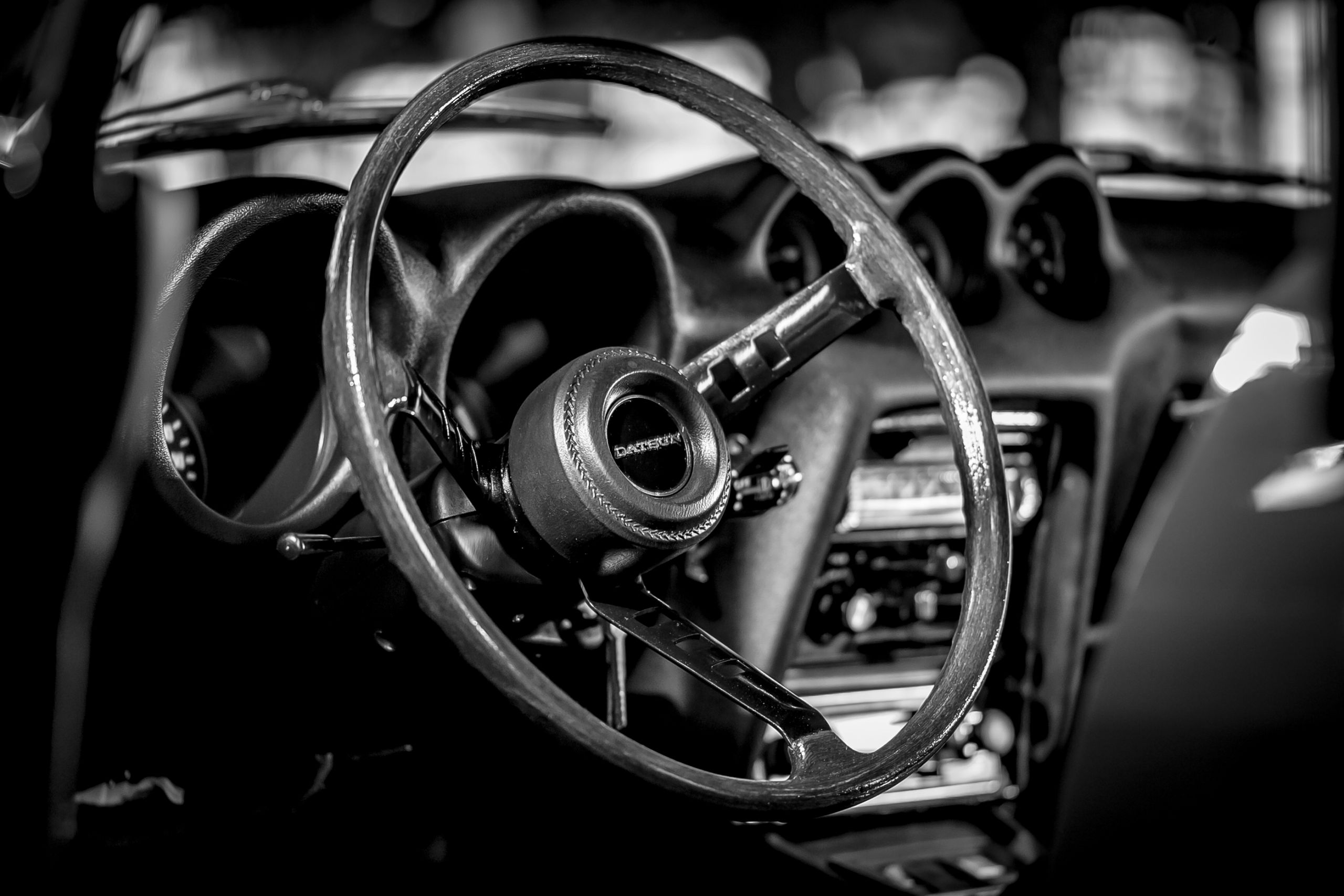 Original Vinyl Innenausstattung eines Datsun 240z zu verkaufen