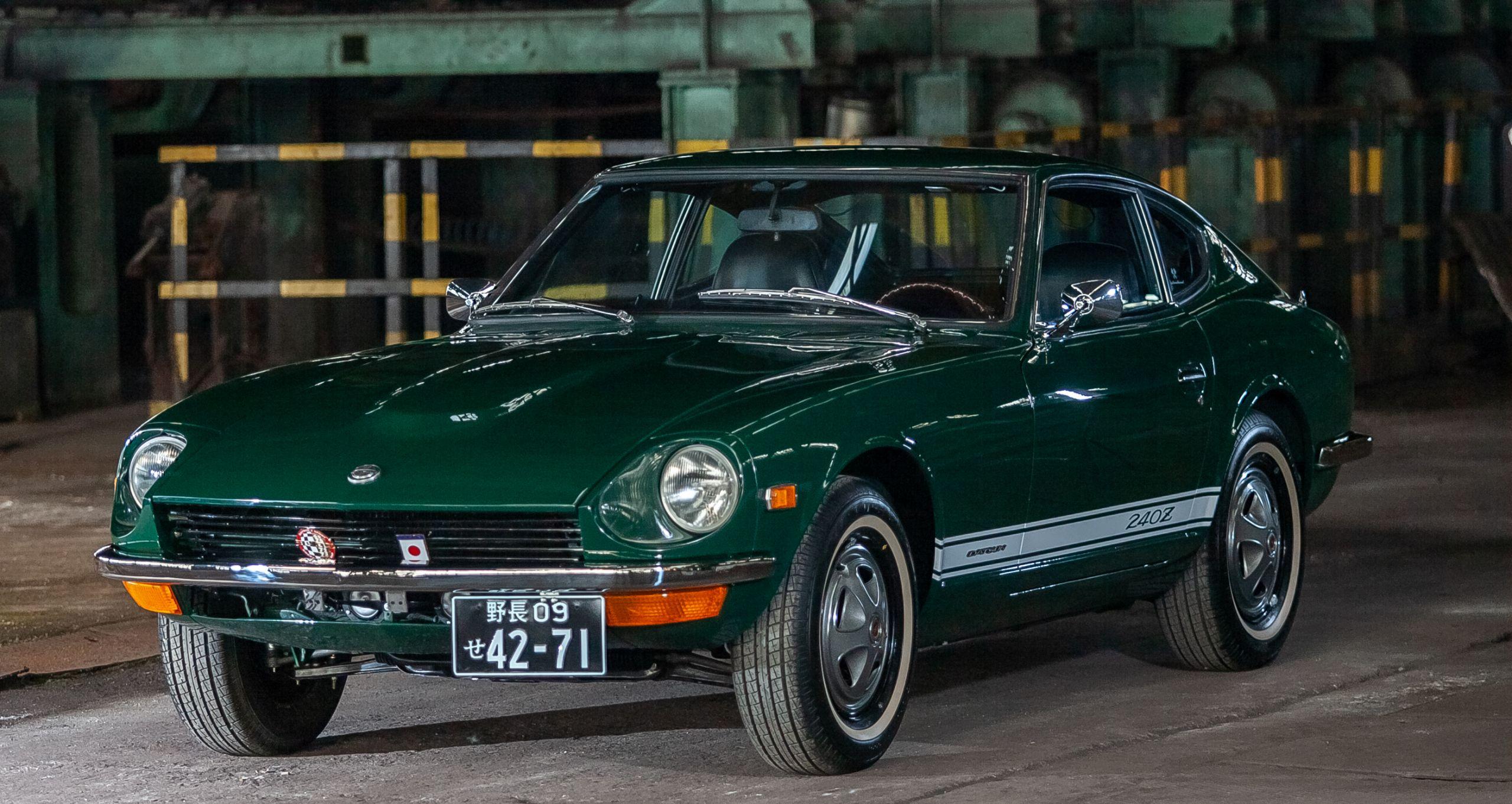 Totally restored Green Datsun 240z for sale
