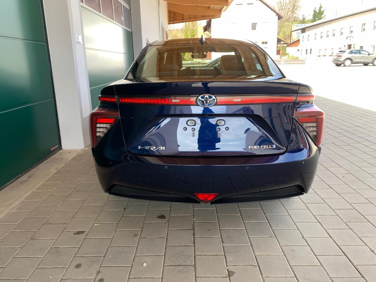 Gebraucht Blau Toyota mirai wasserstoff auto zu Verkaufen