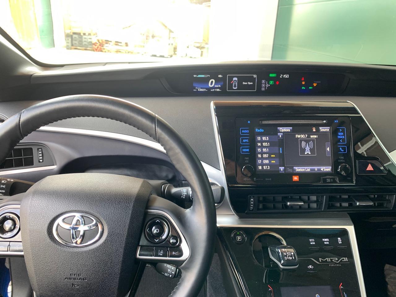 Gebraucht Blau Toyota mirai wasserstoff auto zu Verkaufen Schweiz