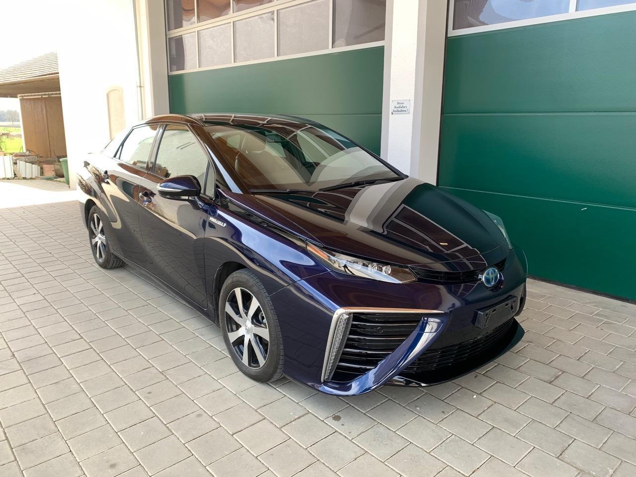 Blau Toyota mirai wasserstoff auto zu Verkaufen Schweiz
