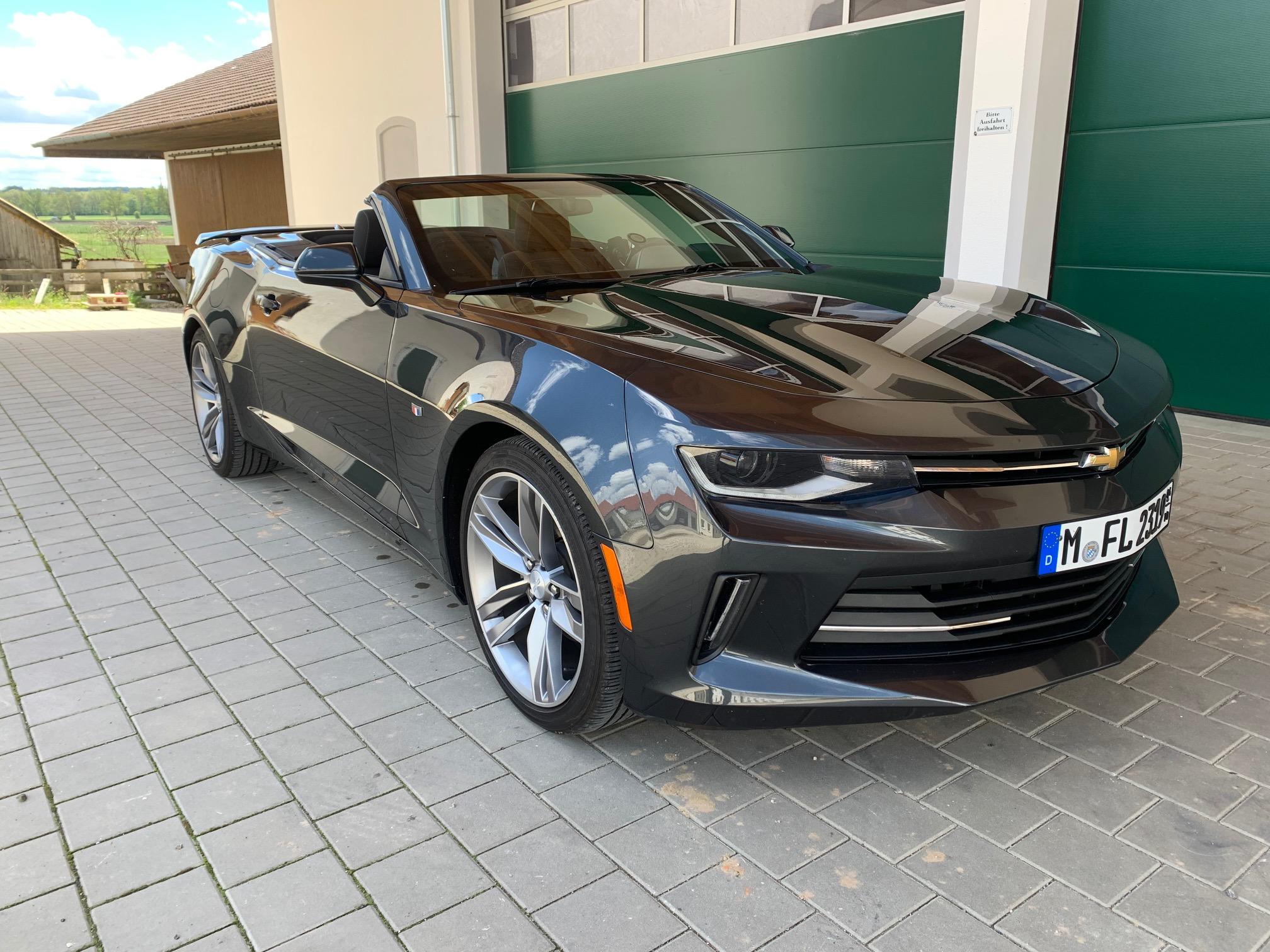 2018 Camaro Cabrio Deutschland zu cerkaufen