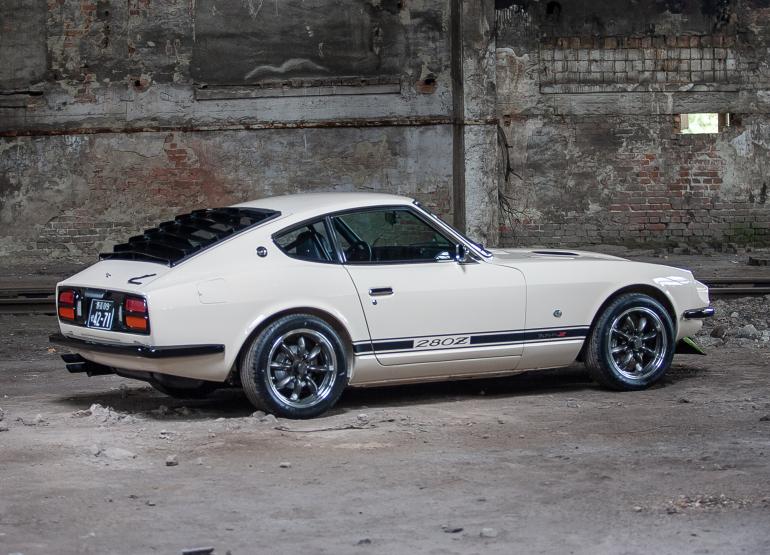 1977 White Nissan Datsun 280Z for sale