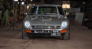 Silberner 1974 Nissan Datsun 260z zu verkaufen Deutschland
