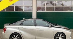 2017 Toyota Mirai Wasserstoff Hydrogen Auto zu verkaufen silber