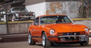 1976 Orange Nissan Datsun 280Z zu verkaufen komplett restauriert